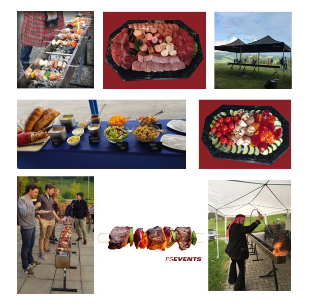 Metergrillrinne Collage